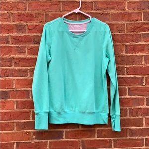 Tops - Teal sweatshirt